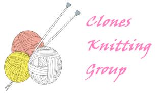 Clones Knitting Group Logo