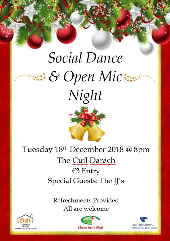 Social Dance Poster