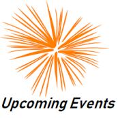 Website logo - Upcoming events